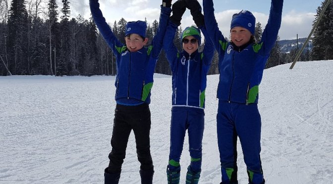 Nelson Nordic Racers at Midget Championships
