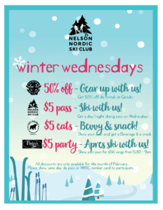 $5 Wednesdays for February 2019!!