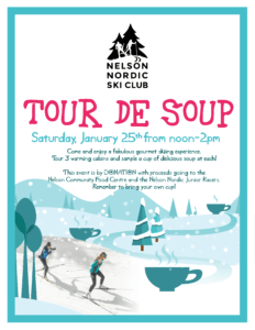 Tour de Soup @ NNSC Warming Huts