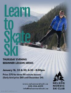 Learn to Skate Ski