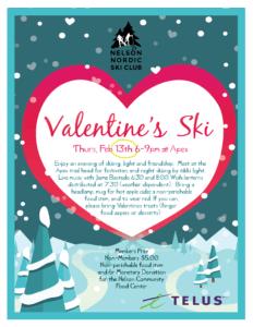 Valentine's Eve Ski @ Apex