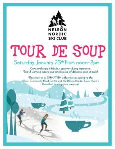 Tour de Soup @ NNSC Warming Huts